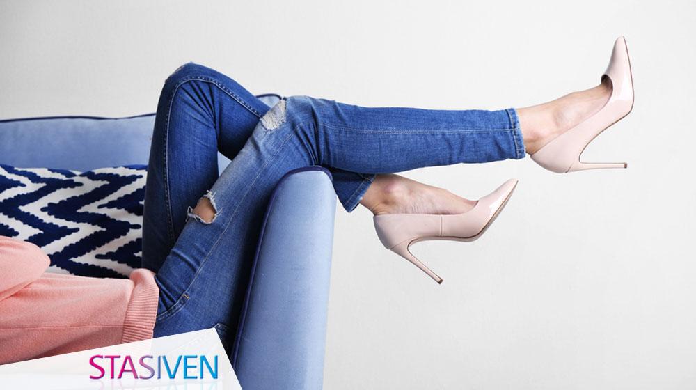 Piedi e caviglie gonfi, gambe stanche: c'è una soluzione!
